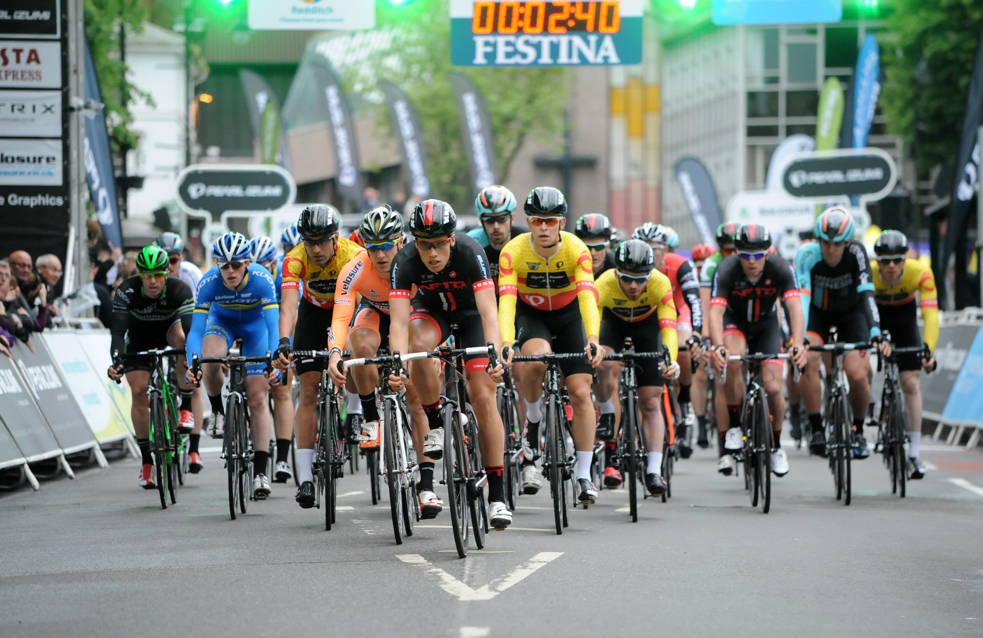 Cycling - Tour Series 2014