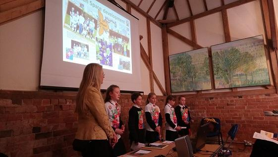 Children from St Alban's Primary School in Hampshire speak about Polli:Promise