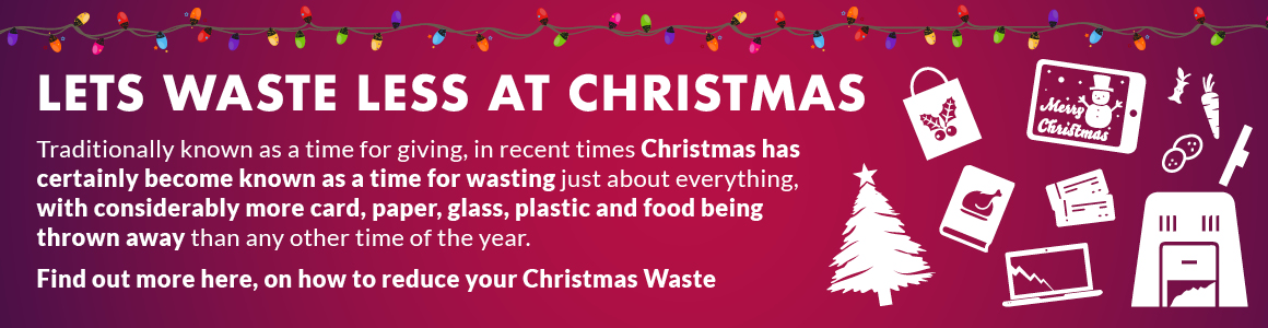 Christmas waste prevention