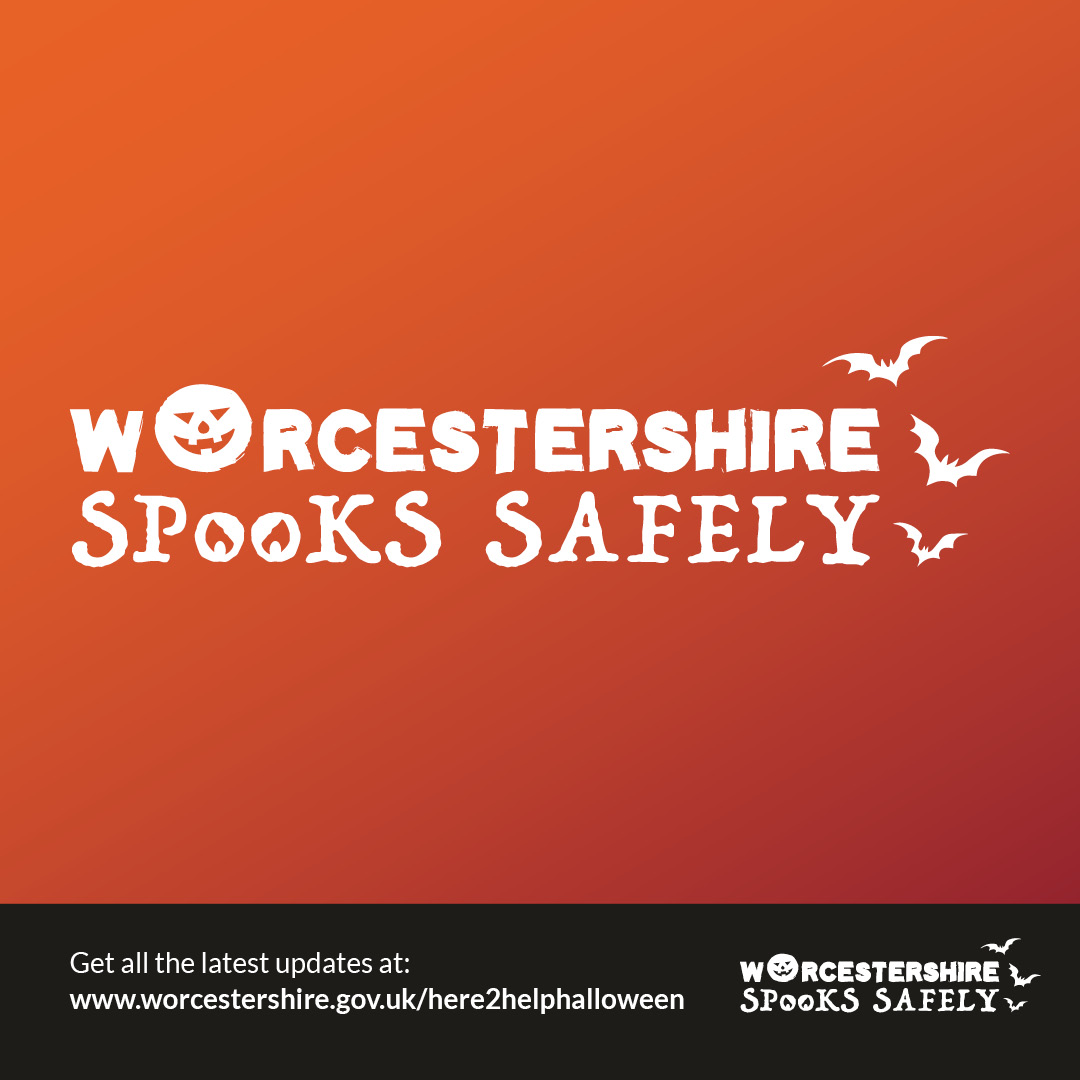 Worcestershire Spooks Safely graphic