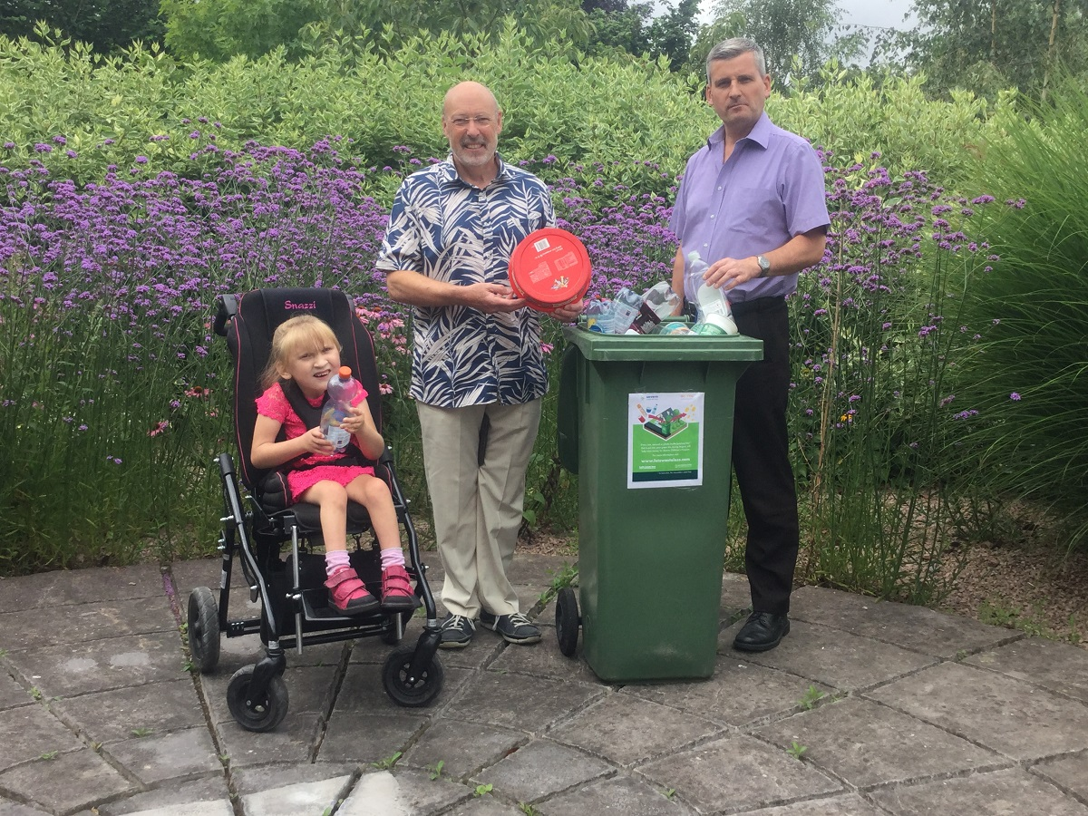 Launch of Recycle for Acorns campaign