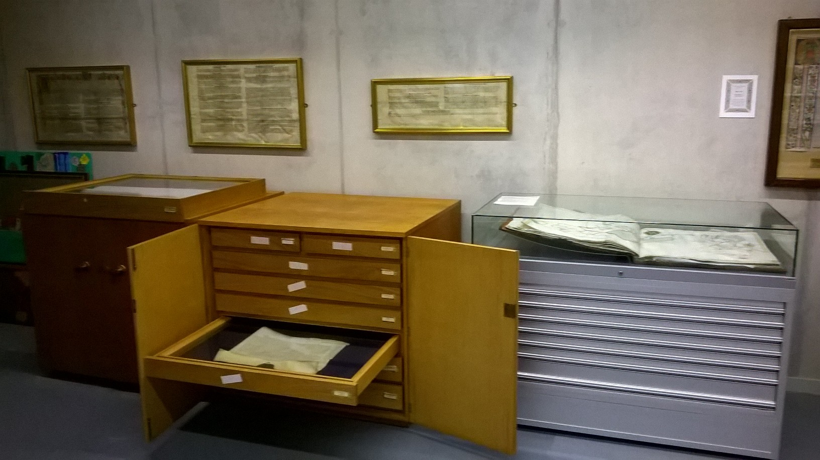 View of the archives
