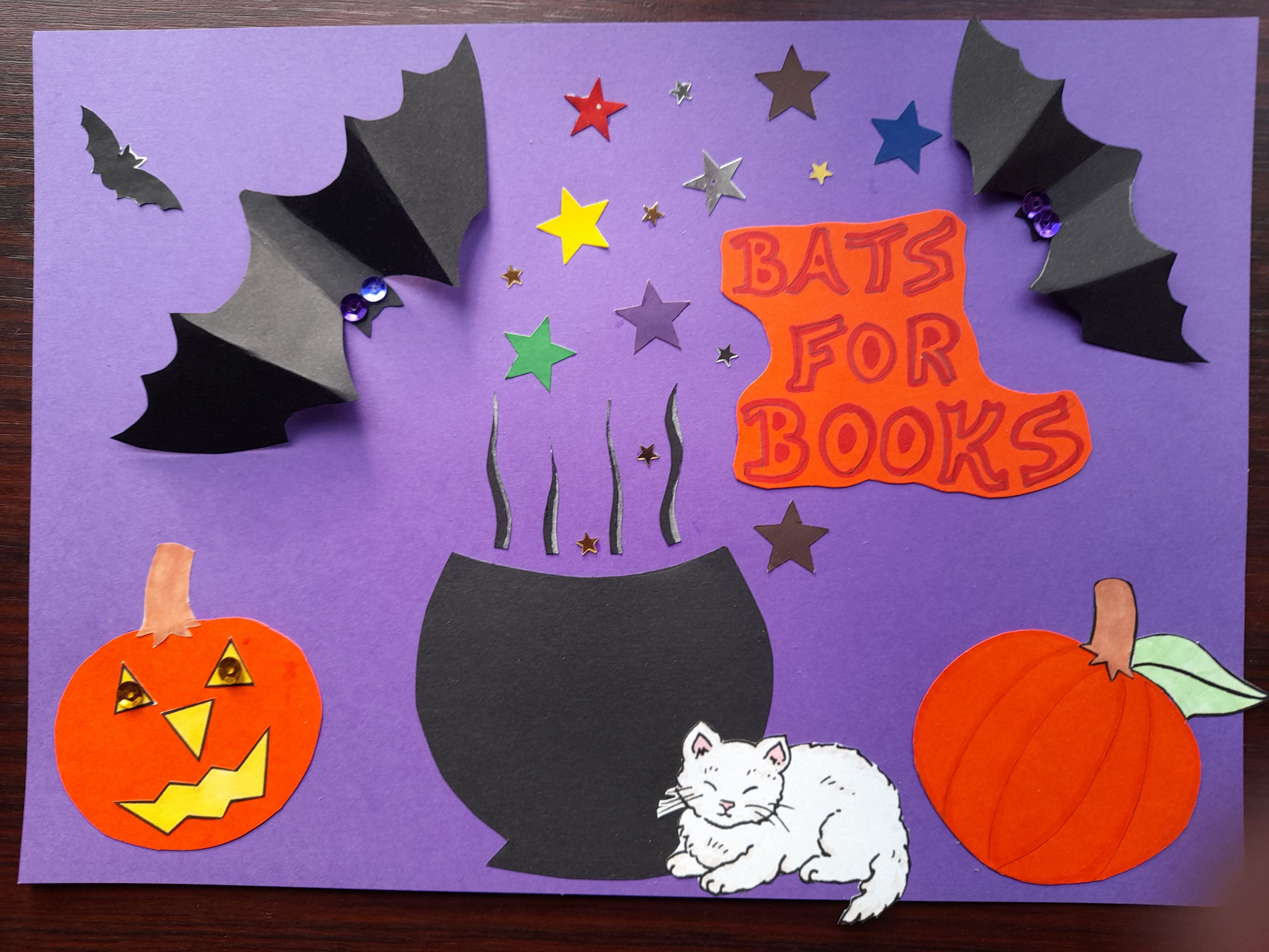 Example of spooky Halloween poster for the Spook-Tacular Libraries event