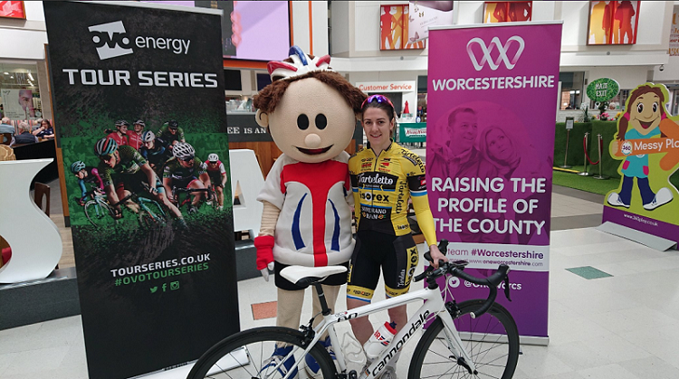 n Redditch yesterday.   The race 'gets back into gear' on Thursday 9th May 2019 and will once again be the first race in this season's Tour Series programme.