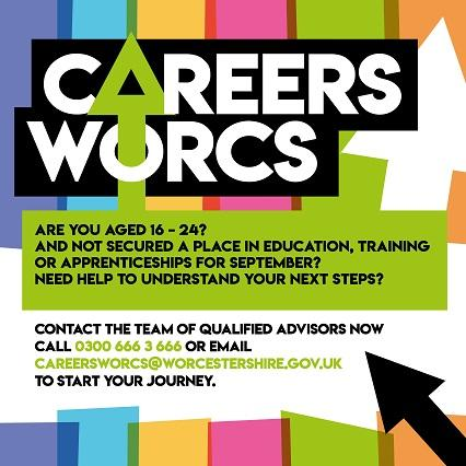 Careers Worcestershire are launching a careers advice service from tomorrow.