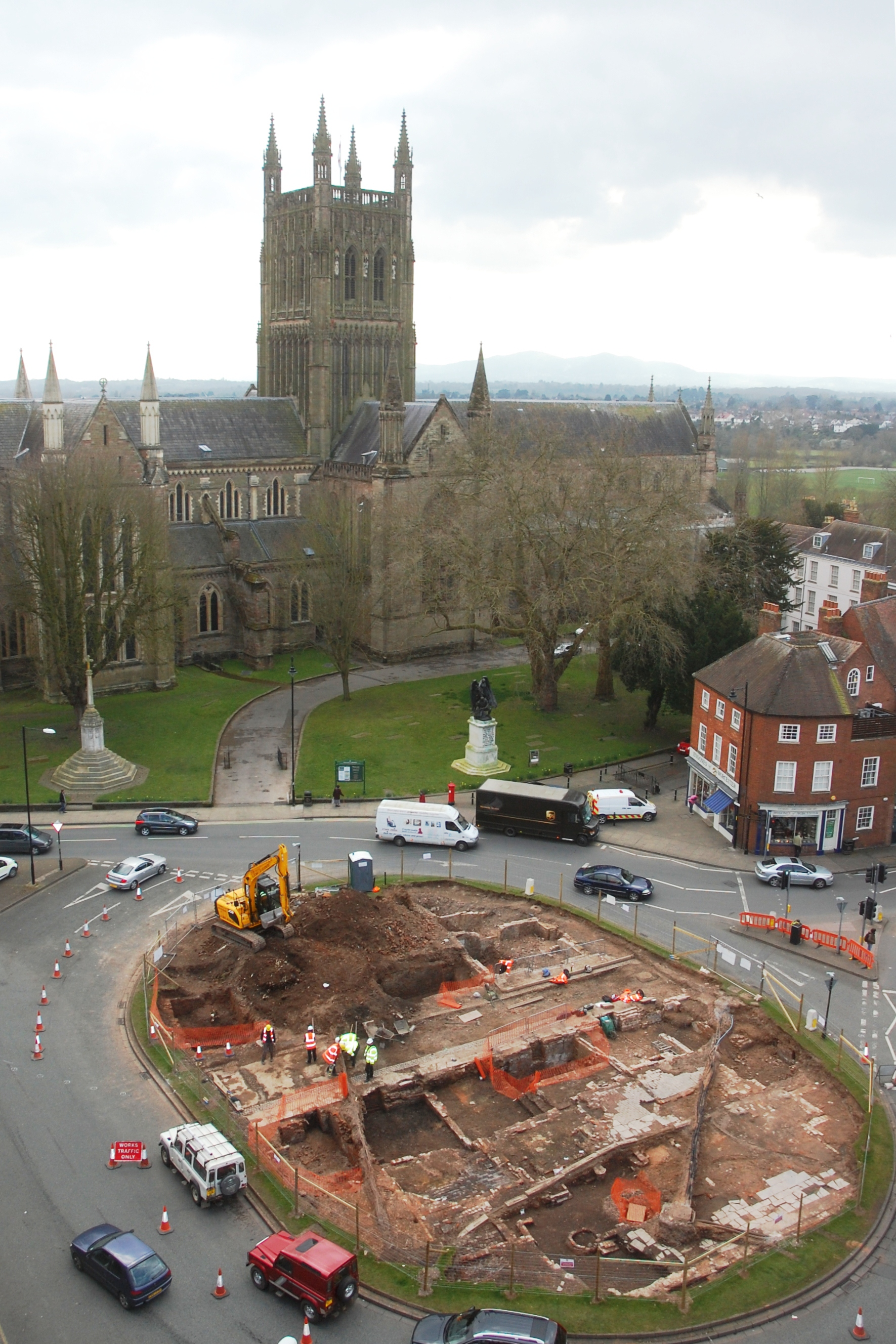 Cathedral square dig