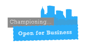 Championing Open for Business
