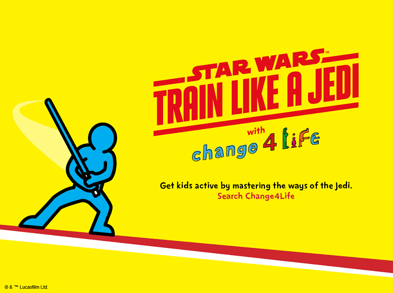 Train like a Jedi - Change for life image