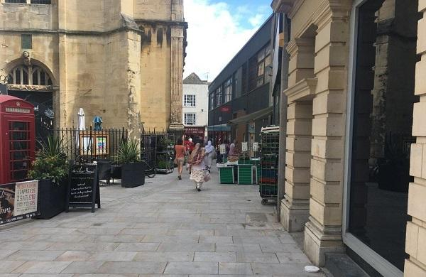 The main works on Church Street are now complete, as part of the Shambles improvement project.