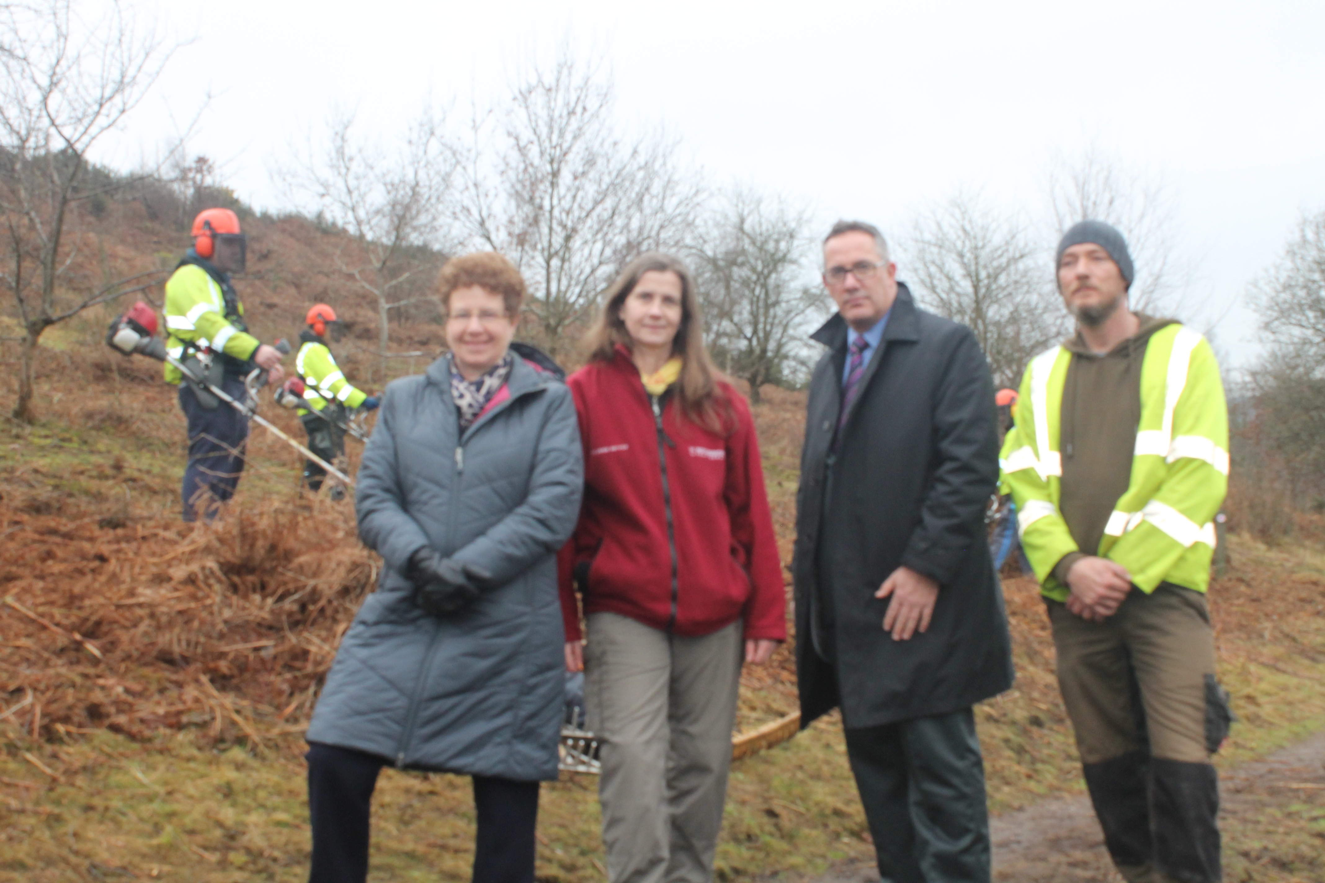 Community Payback Scheme members
