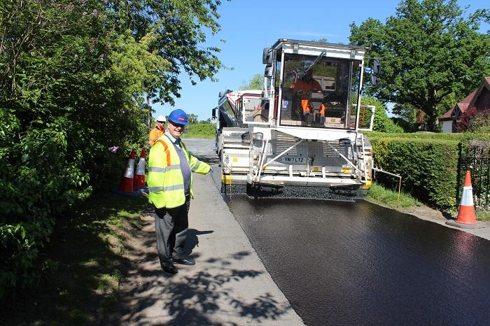 Ensuring roads across Worcestershire are fit for purpose, is an important part of Worcestershire County Council's road maintenance programme.