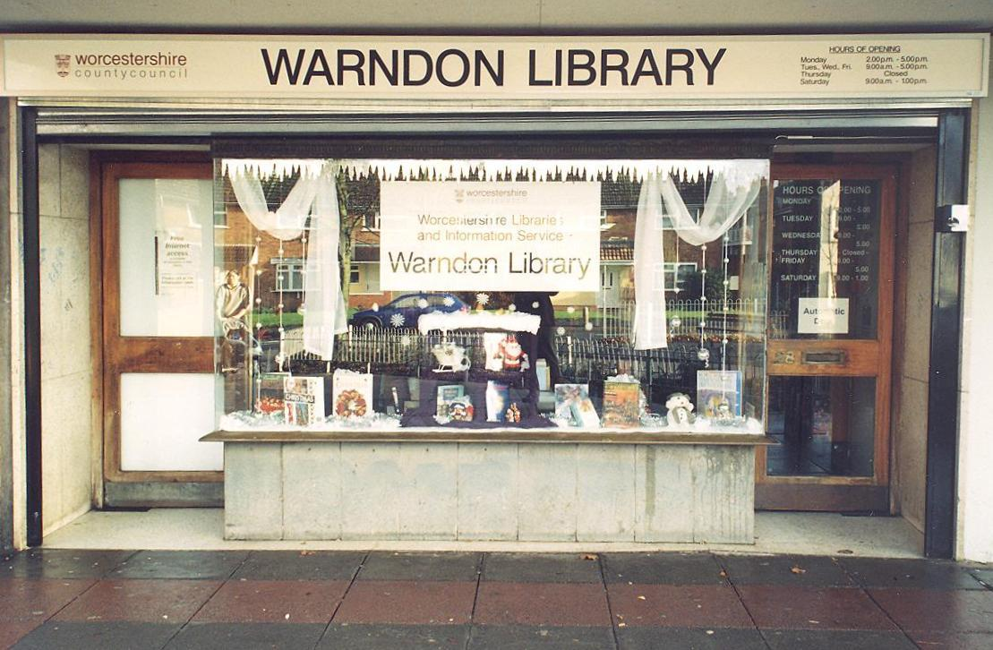 Warndon Library 50 years anniversary