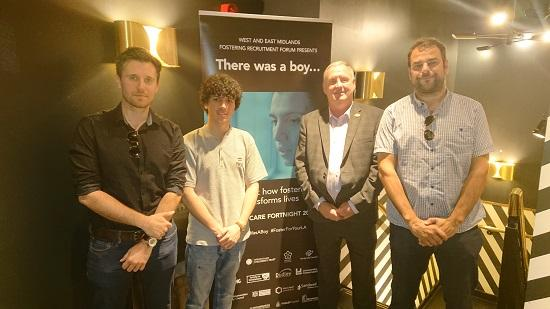 Fostering services from 16 local councils and Trusts across the Midlands have been working in collaboration to produce a new film 'There Was A Boy'.