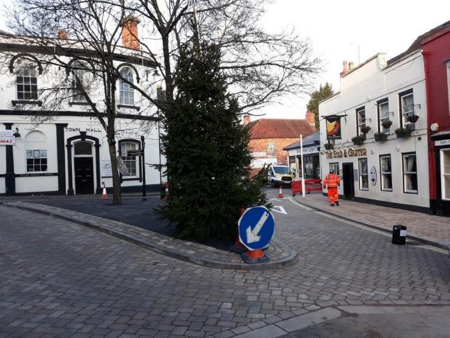 Droitwich High St Improvements Are Complete