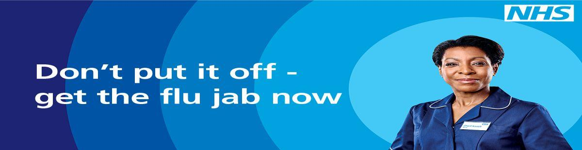 Don't put if off - get the flu jab now.