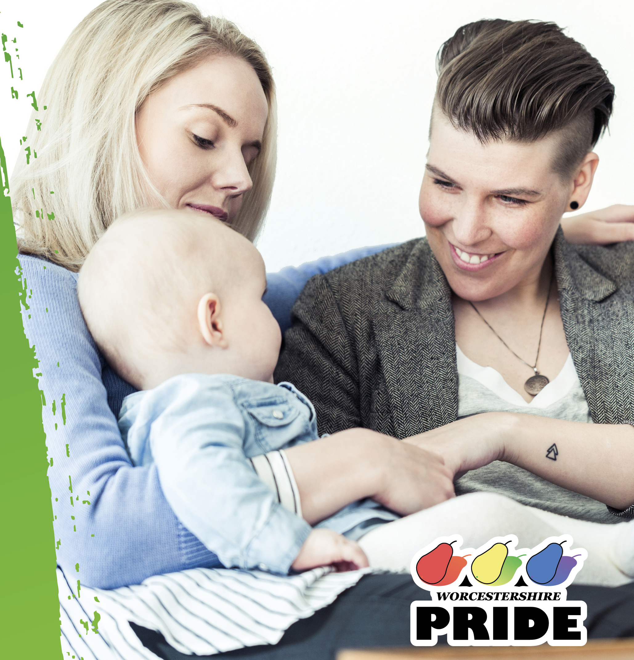 Fostering Worcestershire Pride pop up event