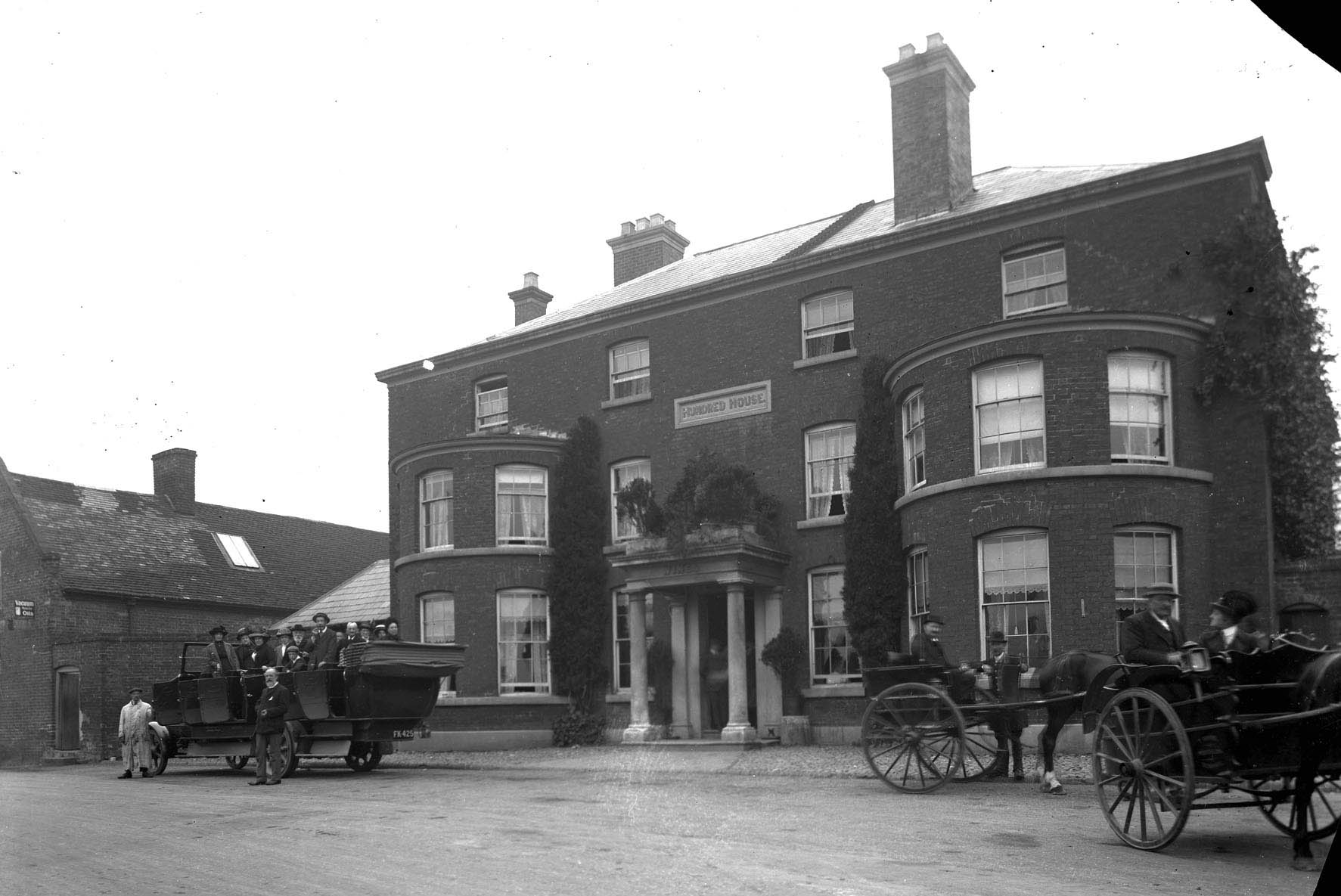 An example of a photo from the archives, The Hundred House in Great Witley