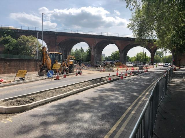 ogramme of works aimed at relieving congestion along Croft Road in Worcester are progressing well.