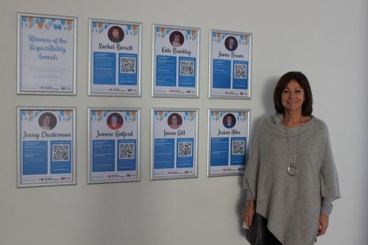 The plaques are on display outside the Council Chamber at County Hall, along with a short profile about each of the winners. The public is encouraged to come and visit the display and find out more about these well-deserved individuals.