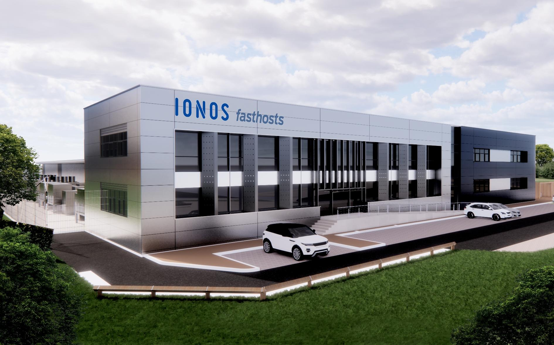 CGI of the potential new IONOS building at Worcester Six Business Park.