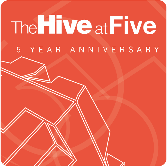 Celebrating The Hive's fifth birthday