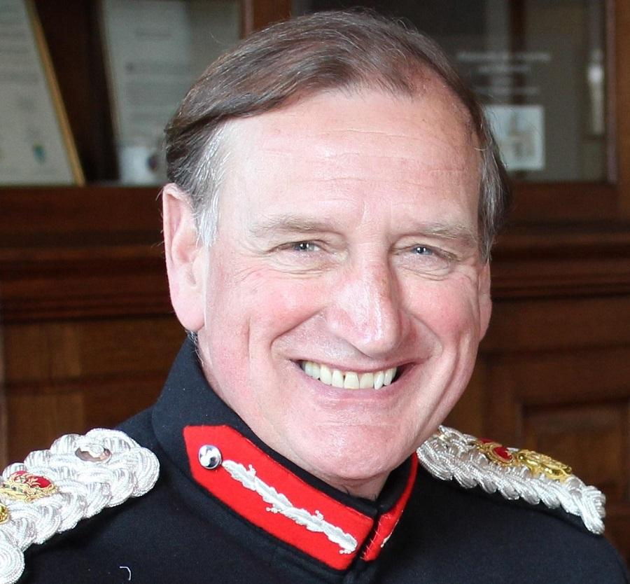 The Lord Lieutenant of Worcestershire.