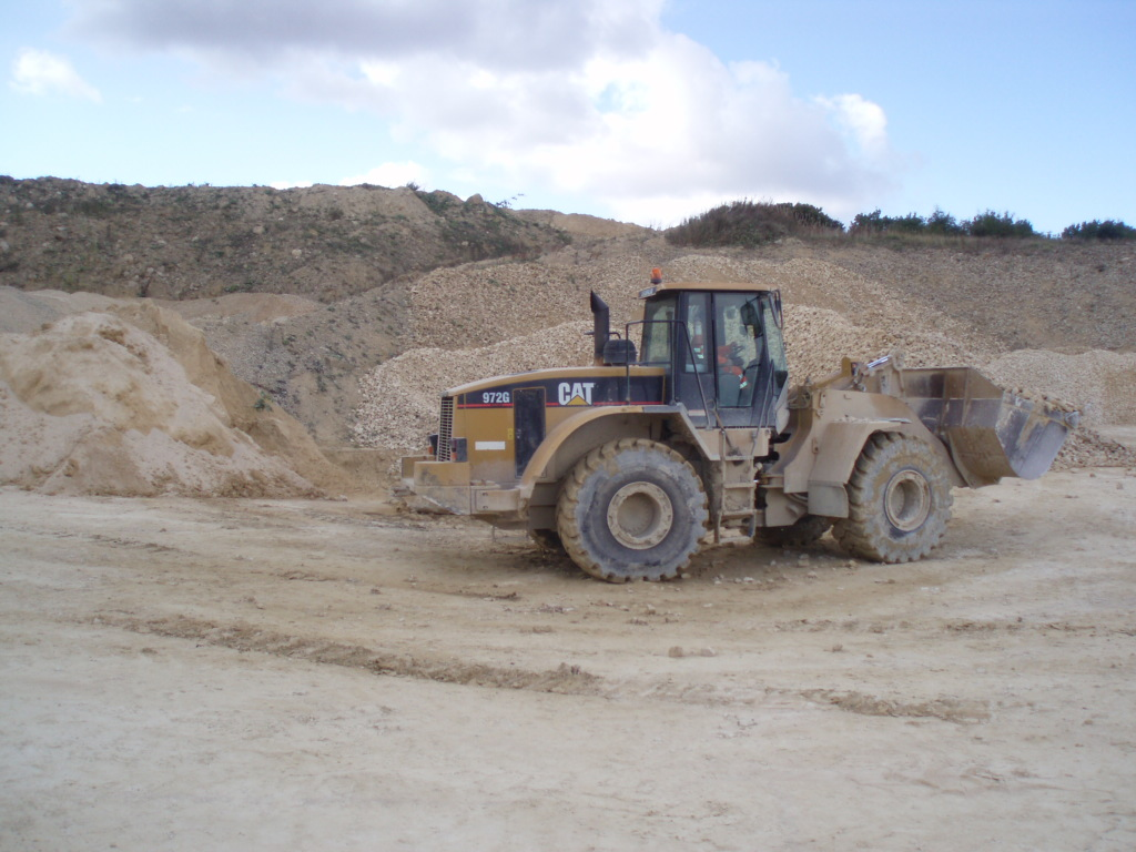 Machinery in Fish Hill Quarry