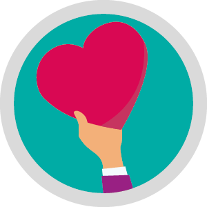 Mental Health Icons heart