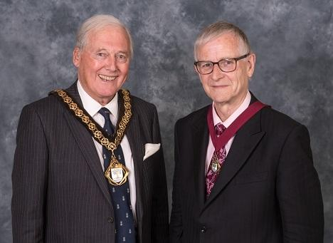 Peter Tomlinson elected Chairman of Worcestershire County Council