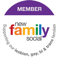 New family social - supporting our lesbian, gay, bi and trans families