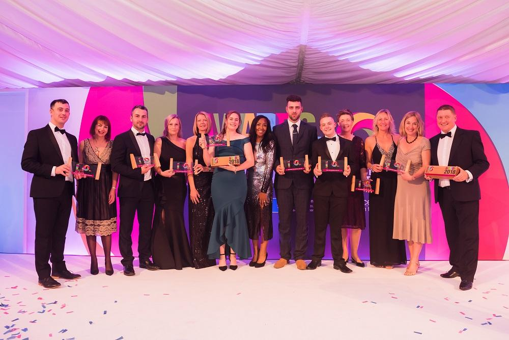 25 of the county's best apprentices, apprenticeship employers, schools and training providers were celebrated in a total of 12 categories at the Treetops Pavilion, West Midland Safari Park