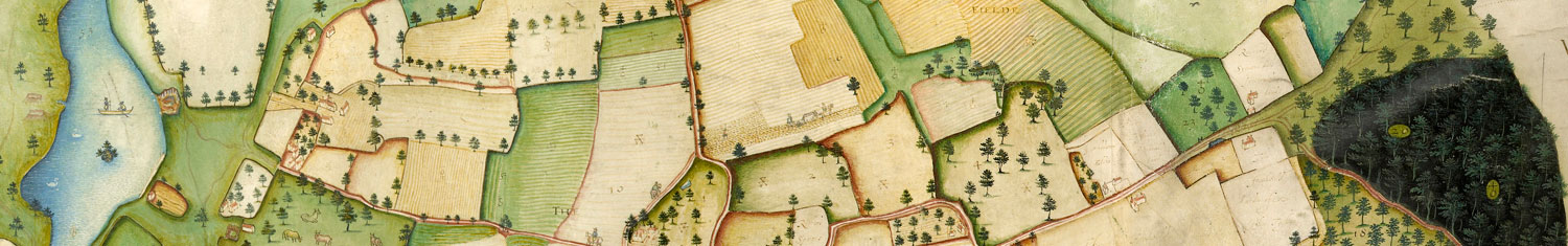 Historic map of Pirton Estate, Worcestershire