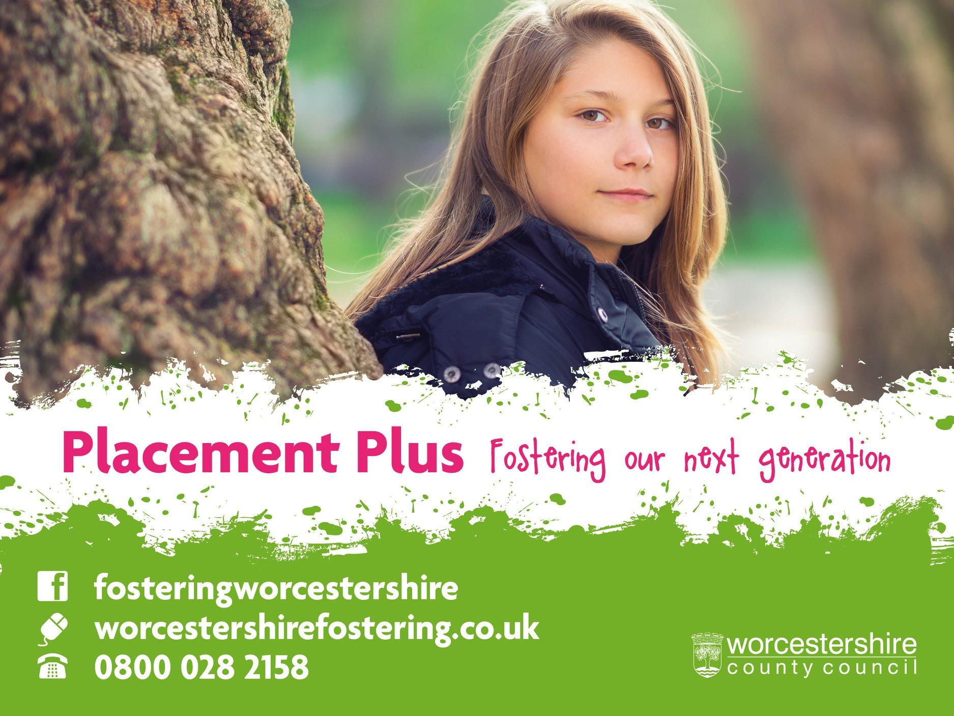 Worcestershire Fostering Service, Placement Plus, New Carers