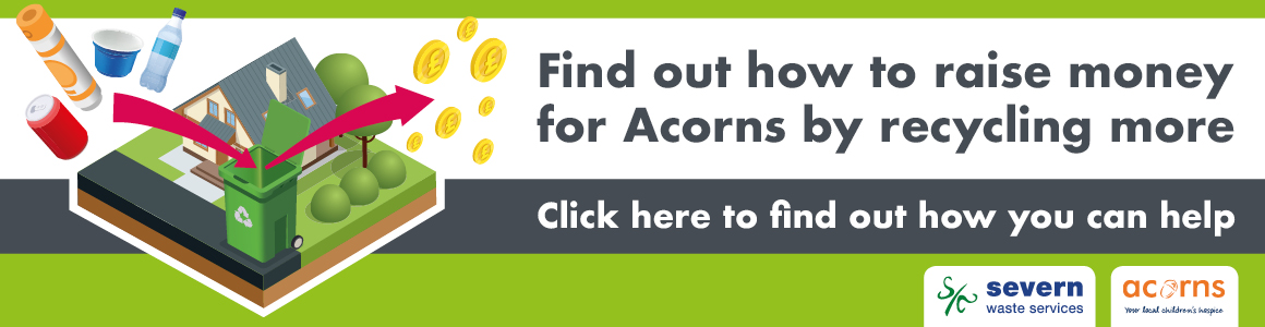 Recycling for Acorns Hospice