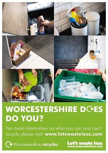 Worcestershire is a county of recyclers – but there are some simple things that we can all do to make our recycling even better.