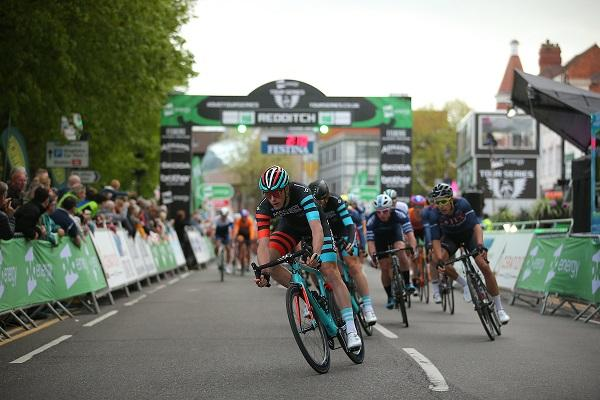 Excitement is building throughout the region as Redditch prepares to welcome the first round for both the women's and men's elite Tour Series races on Thursday 9th May.