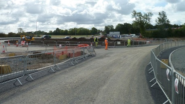 Road closure at Worcestershire Parkway station