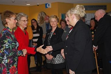 The Duchess of Gloucester comes to Berrington Court.