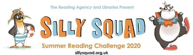 The Reading Agency and Libraries Present Silly Squad Summer Reading Challenge 2020 sillysquad.org.uk