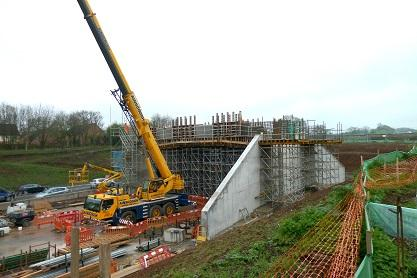Significant progress has been made on a number of large infrastructure schemes in Worcestershire in 2018.