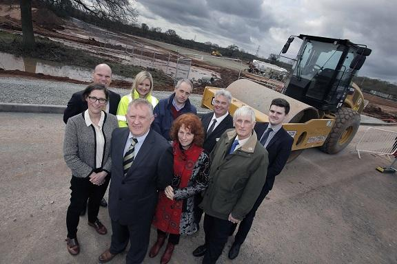 Construction work has started on a new £13 million headquarters building at Worcester Six Business Park for Kimal's arrival later this year.