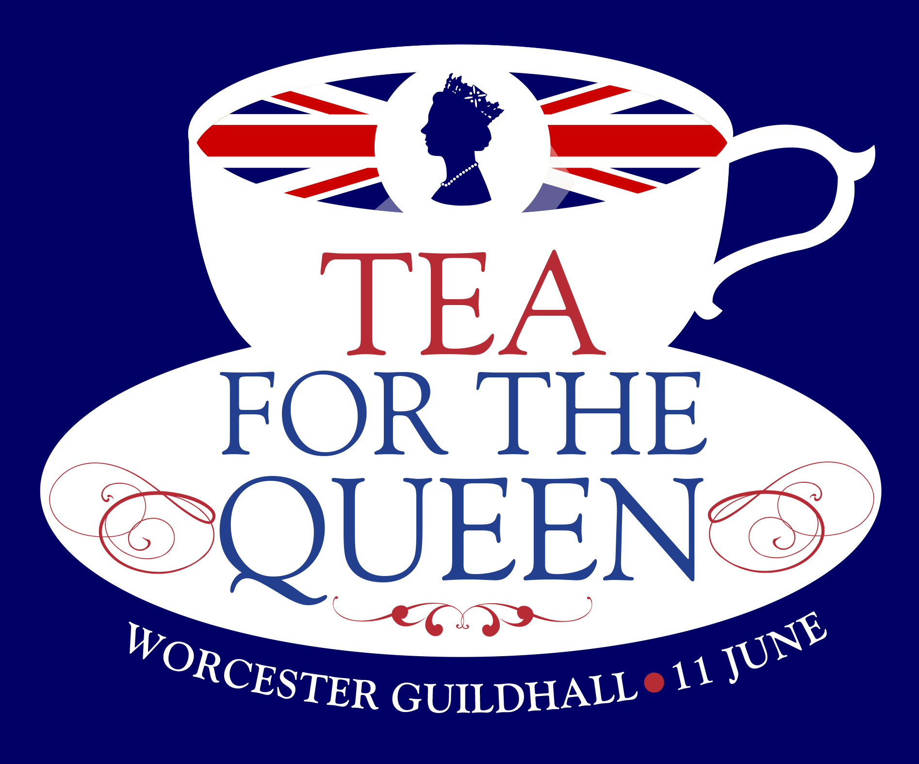 Tea for the queen logo