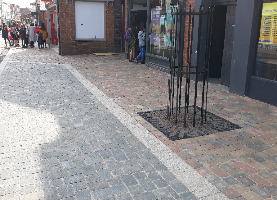Photo of the Shambles paving
