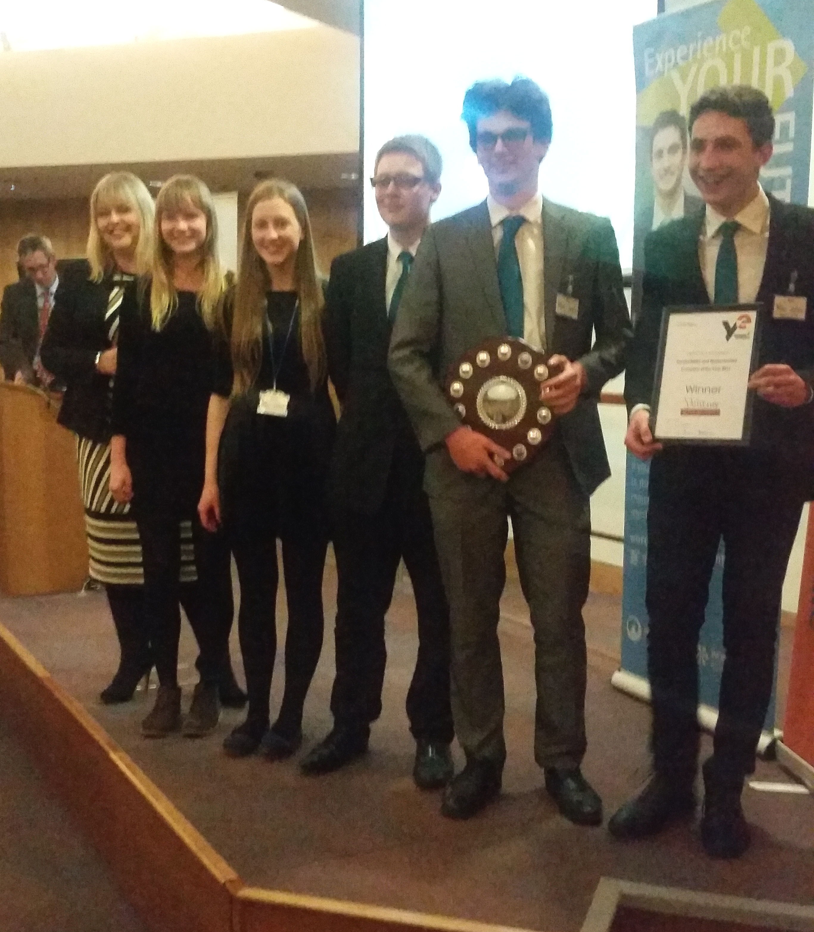 Venture Young Enterprise winners