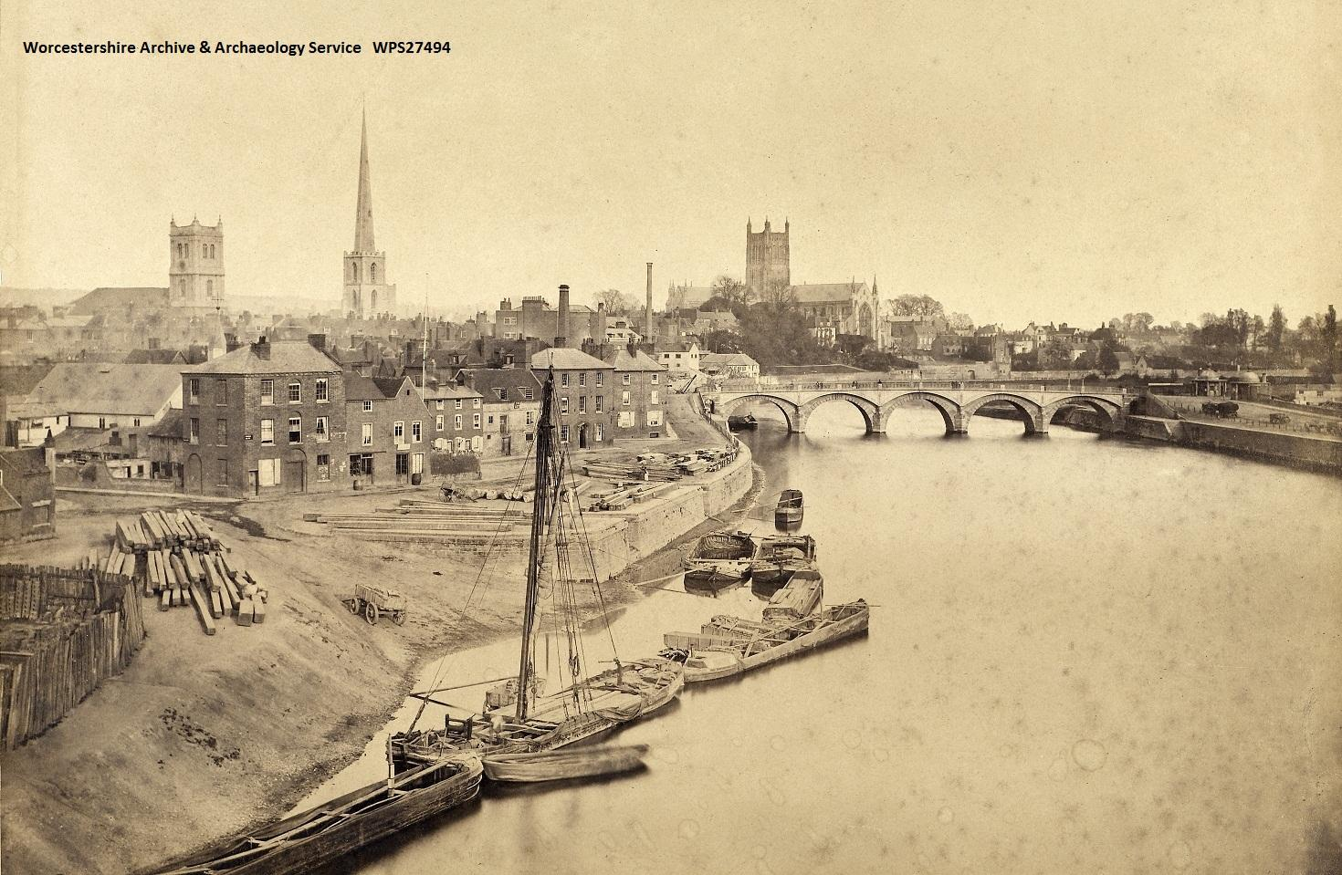 Historic photo of Worcester
