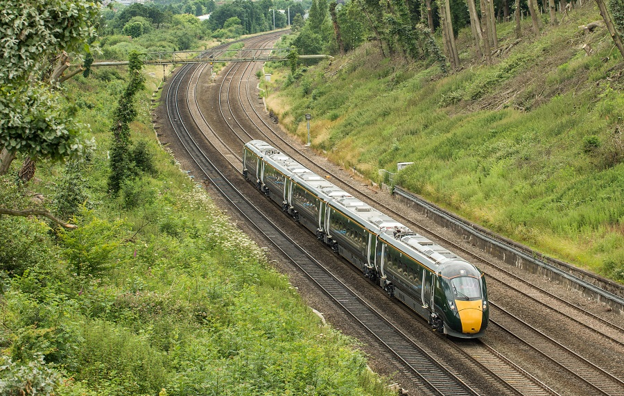 Worcestershire Rail Investment Strategy image of a train