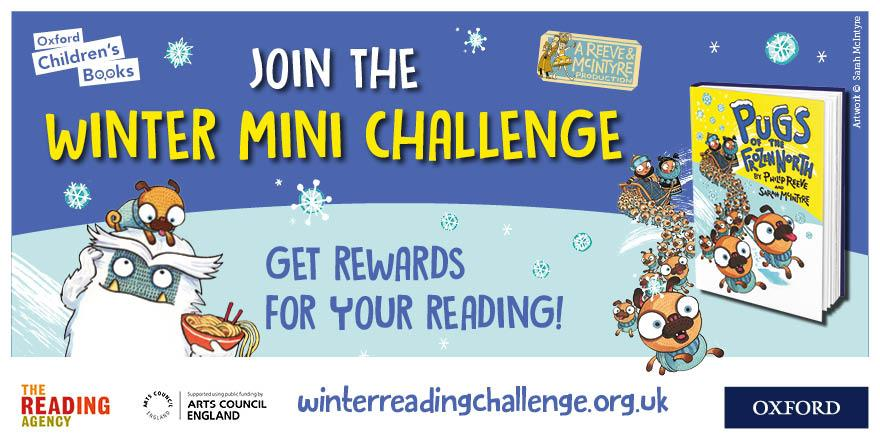 The Winter Mini Challenge for 2019 launches on the 2nd of December.