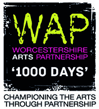 Worcestershire Arts Partnership 1000 Days Logo