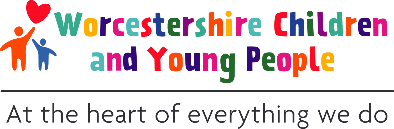 Worcestershire children and young people logo