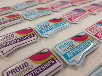 Worcestershire Apprenticeship Badges
